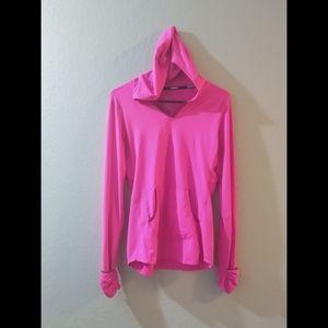 NIKE Athletic running hoodie dri-fit material